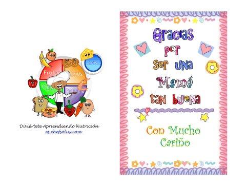 Día Festivo 6 Colorida y Divertida Tarjeta – Día de las Madres