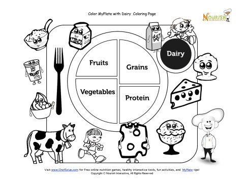 coloring pages health education - photo#36