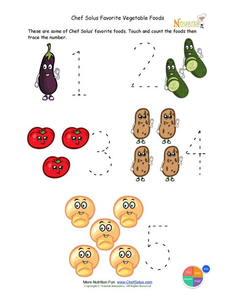 preschool writing activity trace the vegetable foods. Black Bedroom Furniture Sets. Home Design Ideas