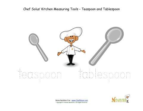Chef solus measuring tools tracing activity teaspoon for 1 tablespoon vs teaspoon