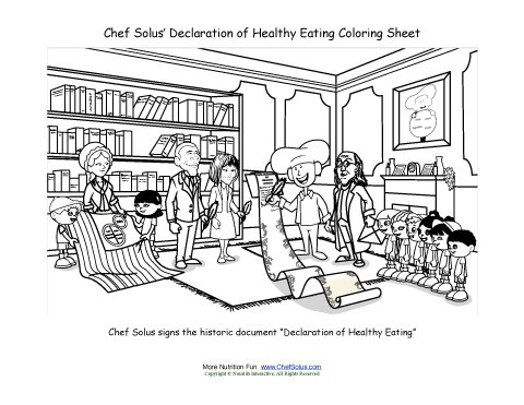 Chef Solus Signs The Declaration of Healthy Eating
