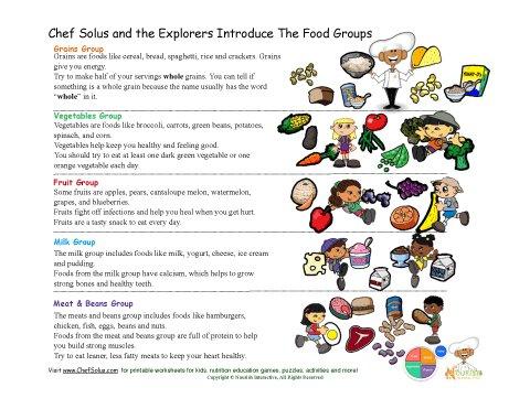 Food Label Listing Crossword
