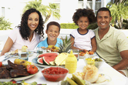 family meals healthy benefits for kids