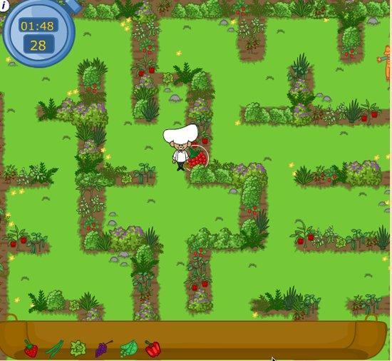 Healthy Harvest Maze