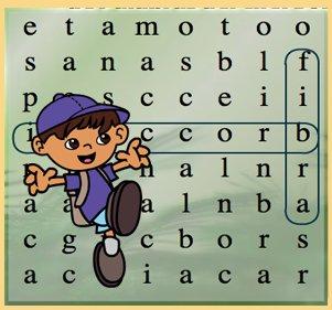 click here to play juego de sopa de palabras