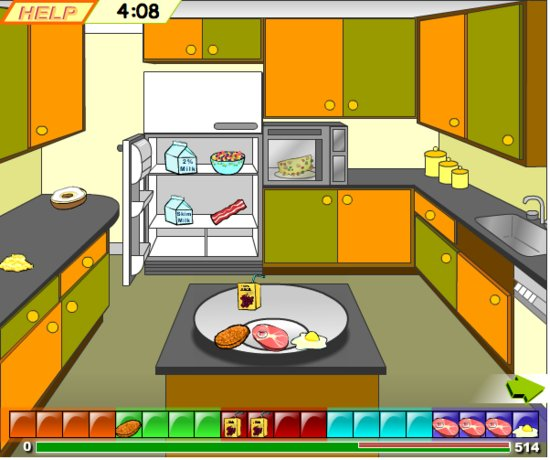 Build a meal game for kids have fun creating balanced for Kitchen set games
