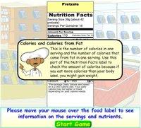 Understanding food labels lesson plan