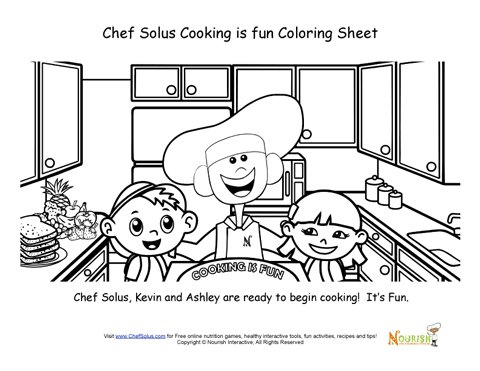 chefsolus coloring pages - photo#21