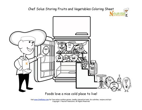 chefsolus coloring pages - photo#18