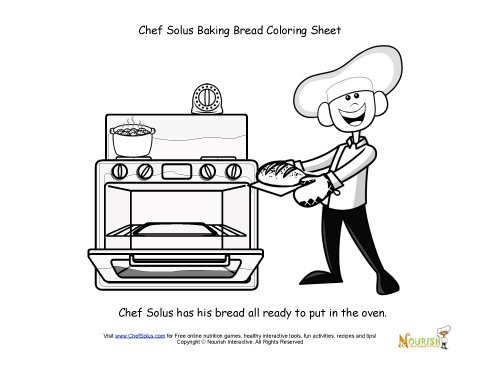 chefsolus coloring pages - photo#8