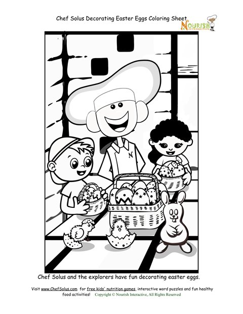 chefsolus coloring pages - photo#11