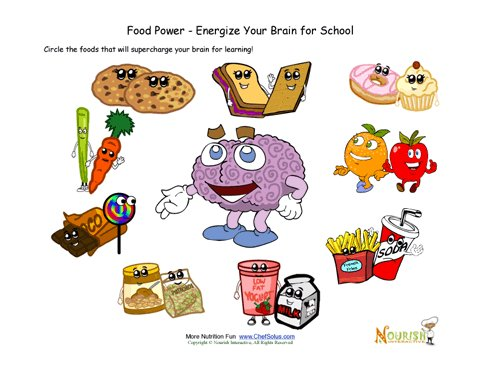 relationship between food guide pyramid activity