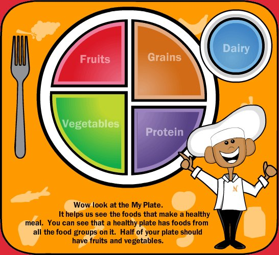 my plate lesson plan teaching kids about my plate