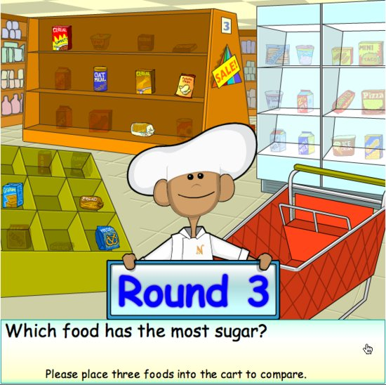 Ride the Food Label Game- Fun Game for Kids, Reading Food